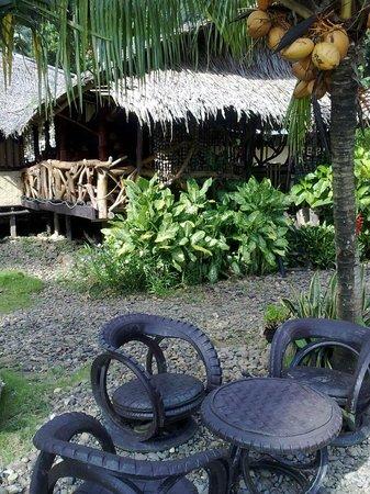 Sunbird Cottages: le restaurant