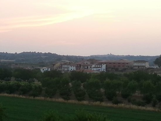 Vilar Rural d'Arnes: View from our room