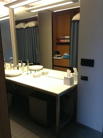 Aloft Chicago O'Hare: Bathroom - tons of counter space