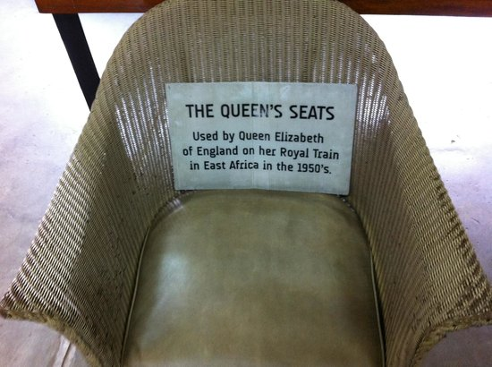 Railway Museum: Queen's seat
