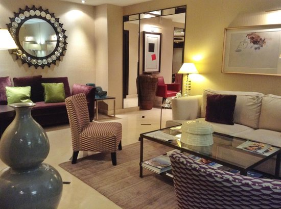 Hotel le Senat: Lounge
