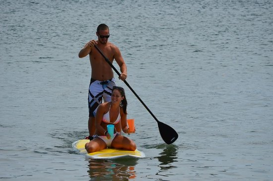 Drake's Island Resort : Close to Wells Harbor for some Paddle Boarding fun!