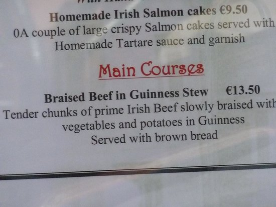 Braised Beef in Guinness Stew - Picture of Bruxelles, Dublin ...