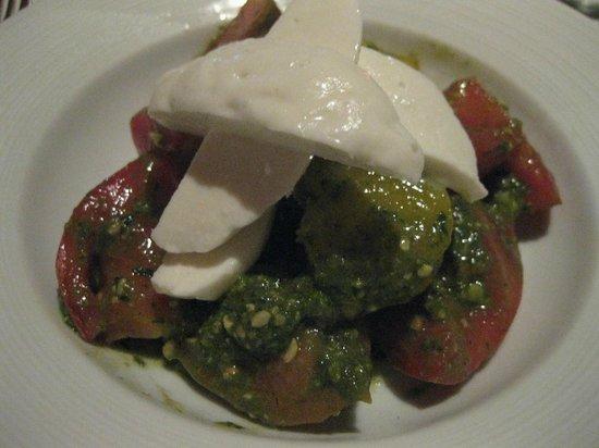 John J. Jeffries : Tomato and mozzarella salad