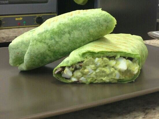 Better Body Cafe: awesome wraps