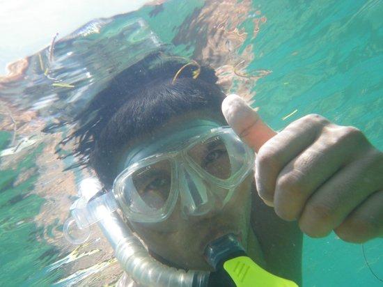 "Maicolh nuestro ""guia"" - Laguna Azul Eco Lodge"