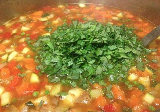 Soup'R: Ministrone van de chef