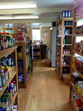 Guilford Country Store and Cafe: Grocery Section