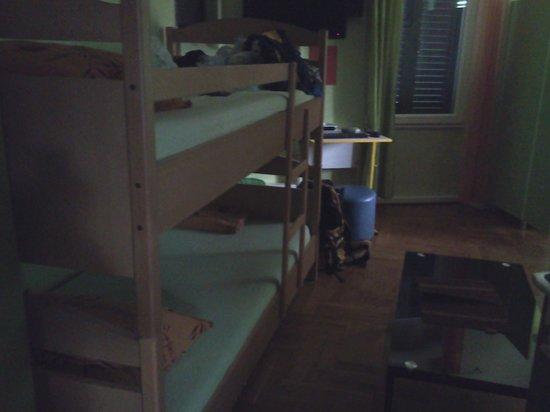 CroParadise Green Hostel : Habitacion