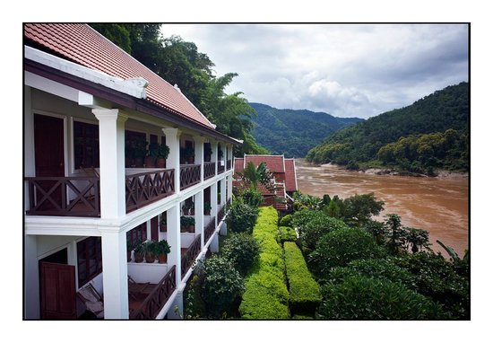 Sanctuary Pakbeng Lodge: All rooms on the river
