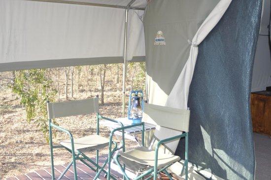 Tydon Safari Camp: Our front porch