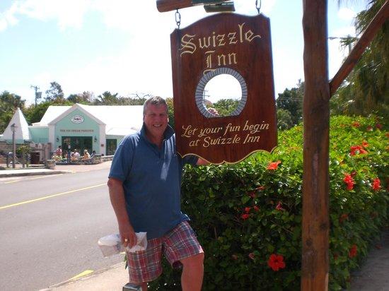 Swizzle Inn: The Famous Sign