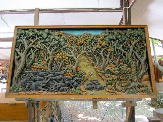Art At Thai Handicraft Center Picture Of Tour With Tong Bangkok