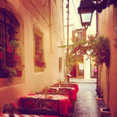 Hotel Leo : Calle de entrada al hotel