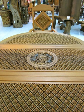 Furniture At Thai Handicraft Center Picture Of Tour With Tong