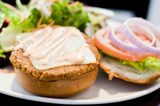 The Essex, Vermont's Culinary Resort & Spa: Quinoa Burger