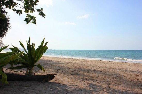 Bagamoyo Country Club: Beach directly in frot of the hotel