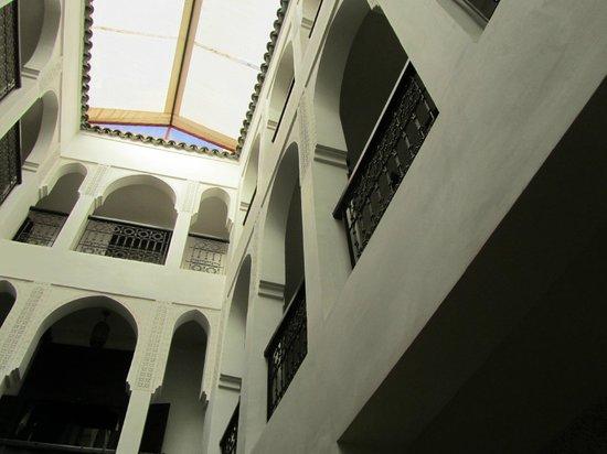 Riad Khabia : Vue de la piscine