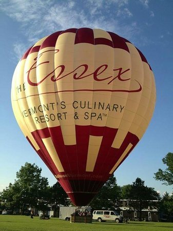 The Essex, Vermont's Culinary Resort & Spa: Hot Air Balloon