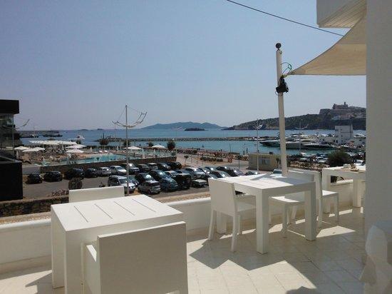 RocaMar Hotel : View from Restaurant