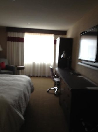 Four Points by Sheraton Edmundston: king suite 5th floor hotel completely redone spring 2013 like a new hotel