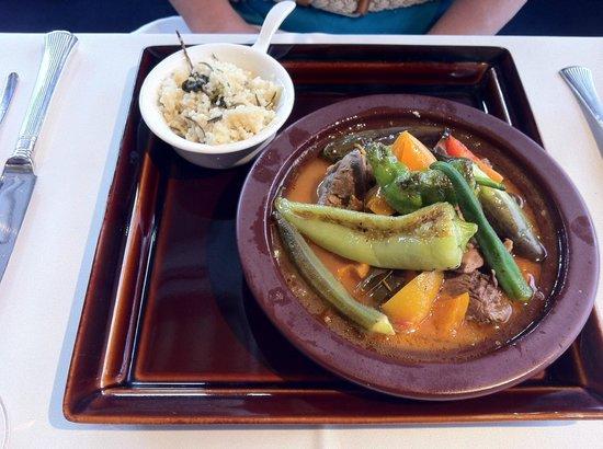 A ta gueule lunch set main - lamb stew