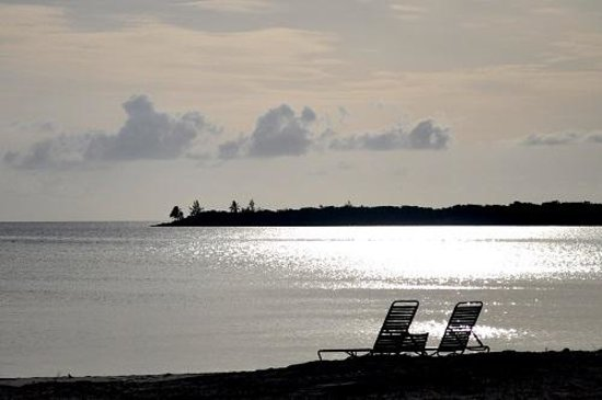 Cape Santa Maria Beach Resort & Villas: Sunset outside our bungalow