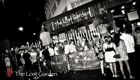 The Lost Garden Bournemouth: Packed as ever
