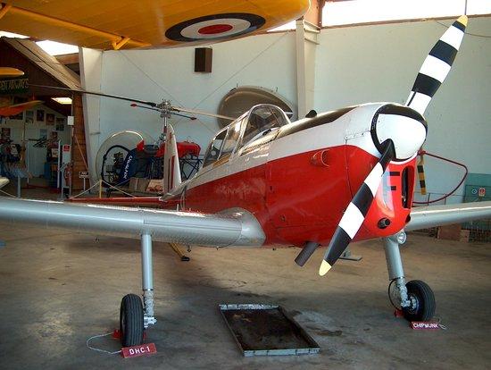 BC Aviation Museum: de Havilland Canada DHC-1 Chipmunk