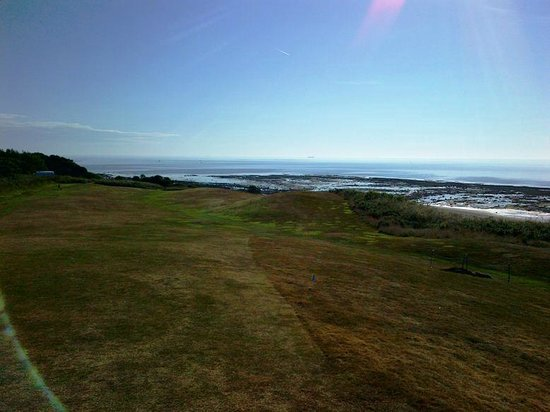 Alnmouth Village Golf Links: From 6th fairway to the sea