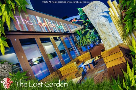 Vip area picture of the lost garden bournemouth for Garden maintenance bournemouth