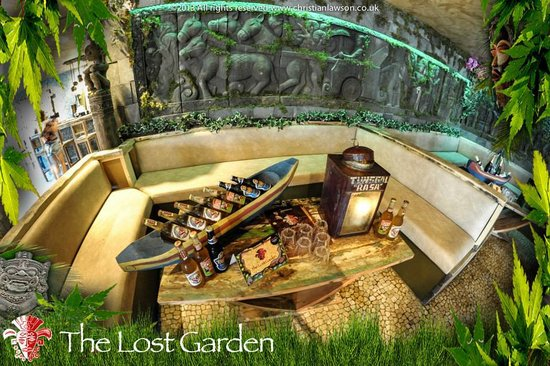 One of our ten vip tables picture of the lost garden for Garden maintenance bournemouth