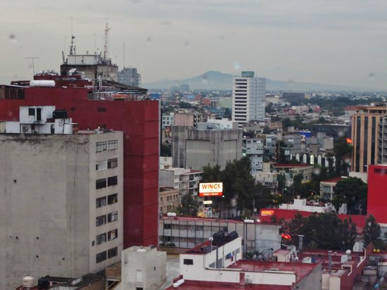 Galeria Plaza Reforma: Rooftop view