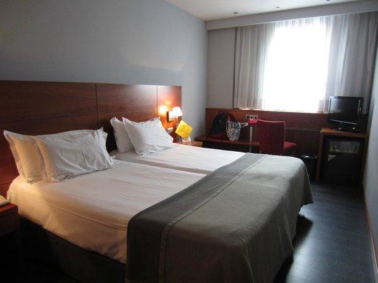 Silken Concordia Hotel: extra roomy