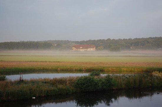 Hotel Tatenhove Texel : uitzicht vanuit het hotel
