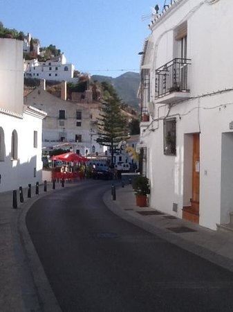 Looking down towards Bar Virtudes and the village centre beyond