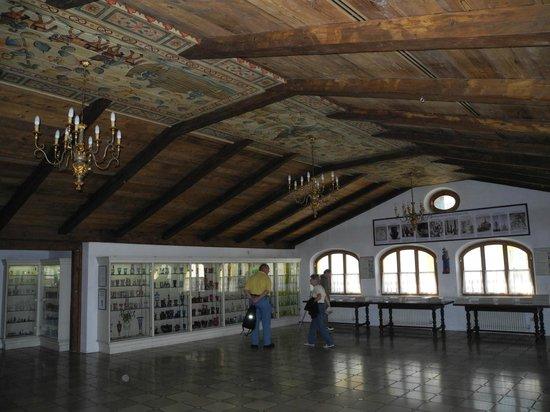 Glasmuseum Passau: die grossen Säle