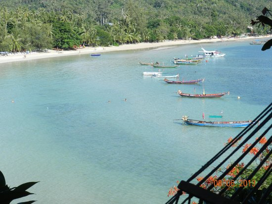 Koh Tao Cabana: View from the room