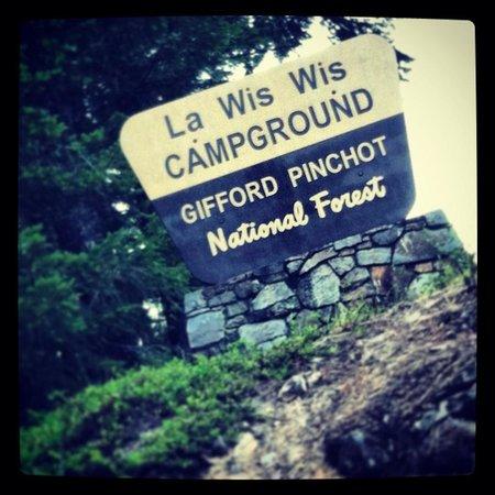 La Wis Wis Campground: LA WIS WIS entrance