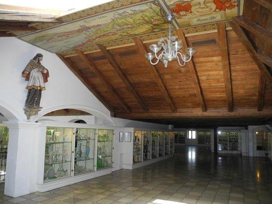 Glasmuseum Passau: schöne Decken