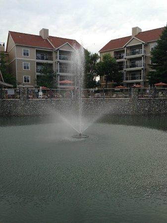 Wyndham Branson at The Meadows: fountain