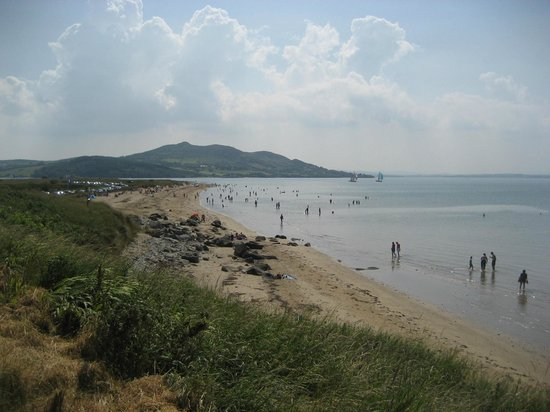 Lisfannon Strand: Beach, from Buncrana side