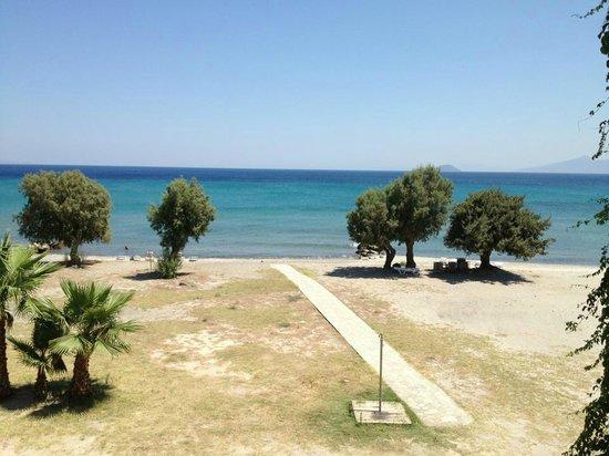 Olympia Mare: vista dal balcone della stanza