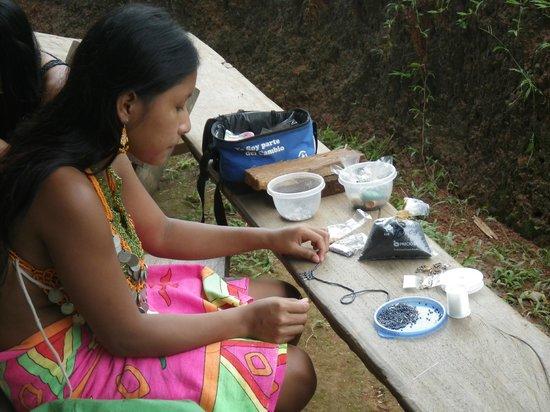 Embera Tours Panama: Artesania - Poblado Embera Quera