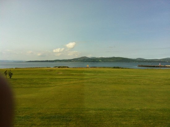 Inishowen Gateway : View from dining room and all bedroobs on that side of the hotel