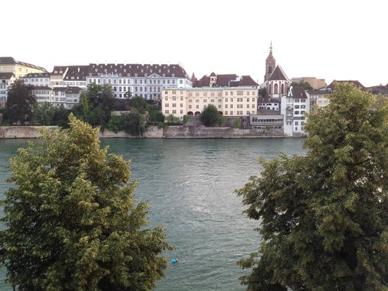 Hotel Krafft Basel: View from our balcony