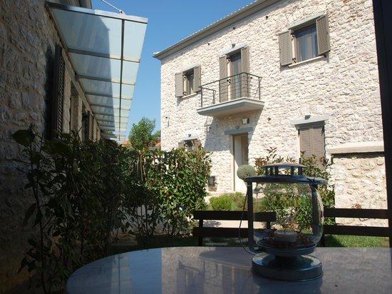Guest House Gortis : De la terrasse de la suite