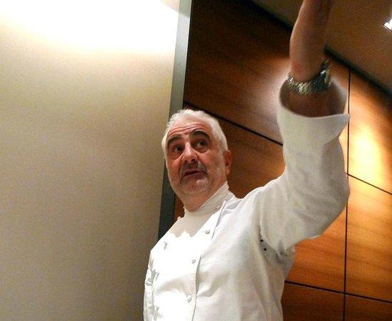 Restaurant Guy Savoy: le chef Guy Savoy