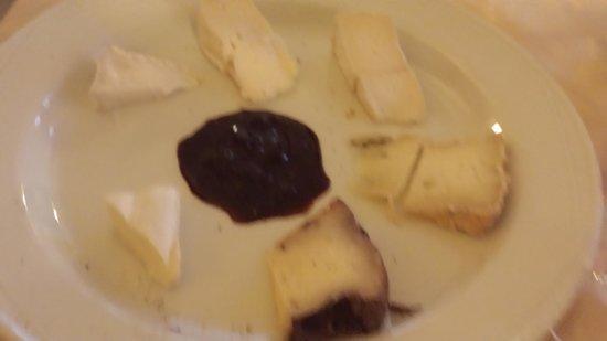 Locanda del Camino: formaggi