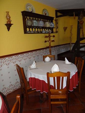 Interior do Restaurante Sabores